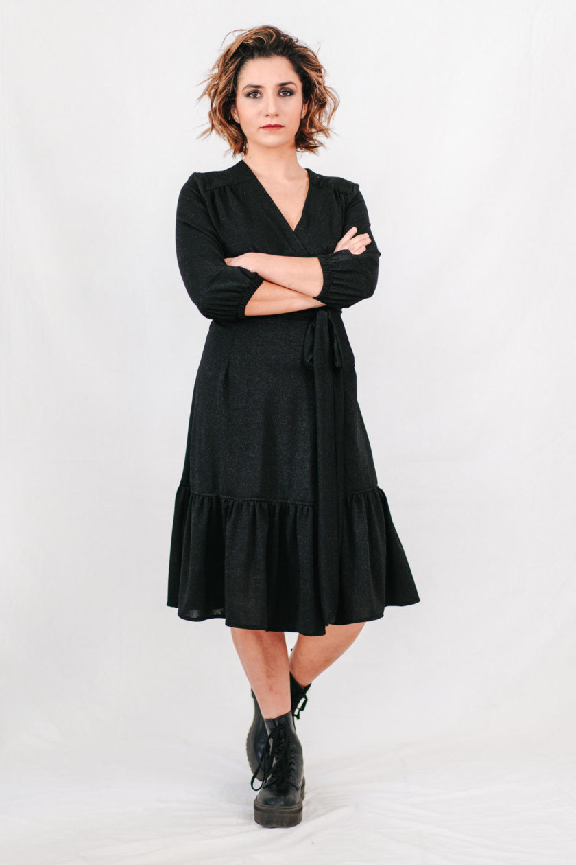 GUERRIERA - Wrap-dress Midi